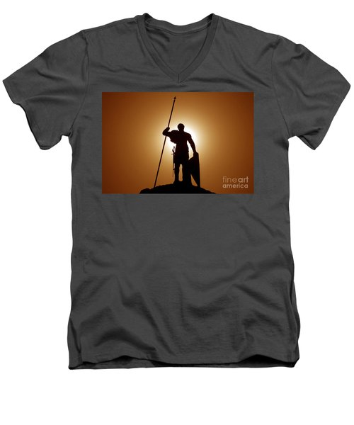 Warrior Men's V-Neck T-Shirt