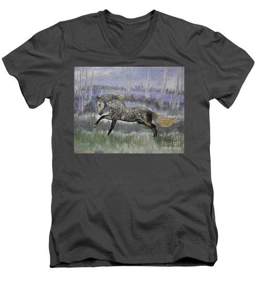 Warrior Of Magical Realms Men's V-Neck T-Shirt