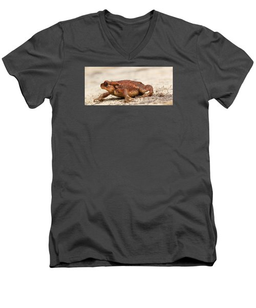 Men's V-Neck T-Shirt featuring the photograph Warts 'n' All by Richard Patmore