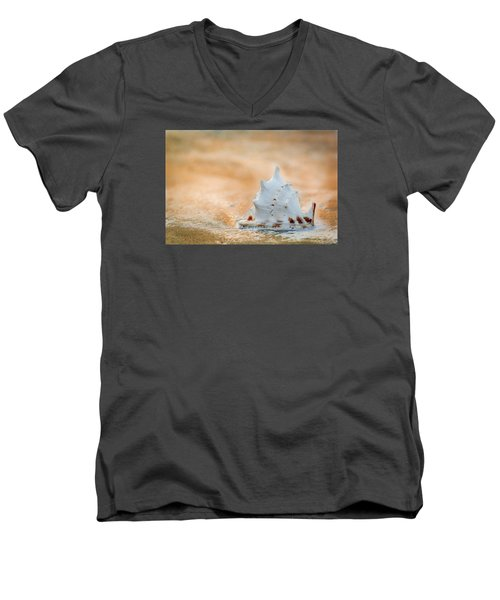 Men's V-Neck T-Shirt featuring the photograph Washed Up by Sebastian Musial