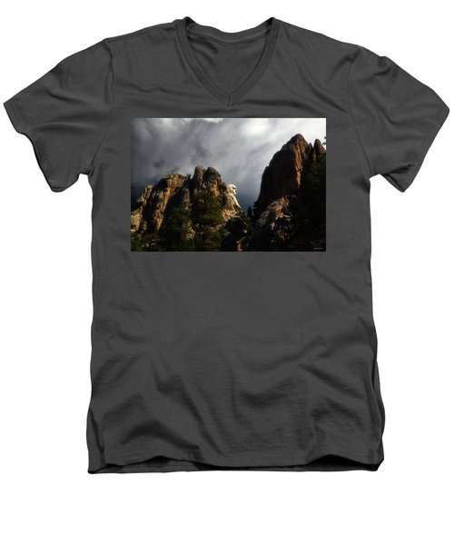 Washington Profile 001 Men's V-Neck T-Shirt