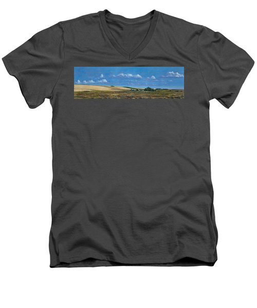 Washington Wheatland Classic Men's V-Neck T-Shirt