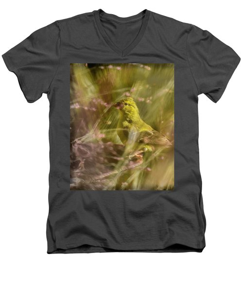 Watch What You Eat.... Men's V-Neck T-Shirt