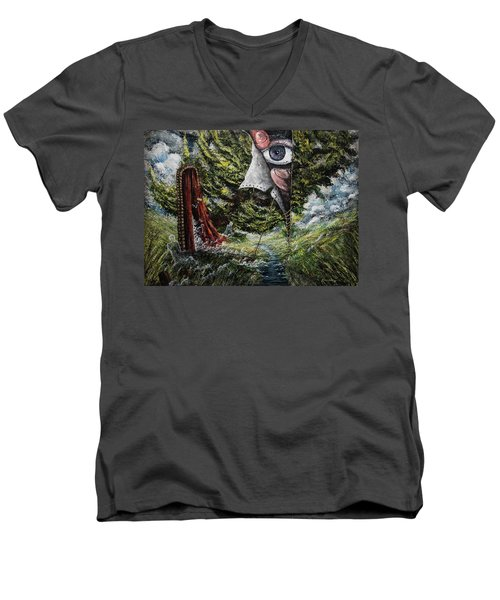 Watchers  Men's V-Neck T-Shirt