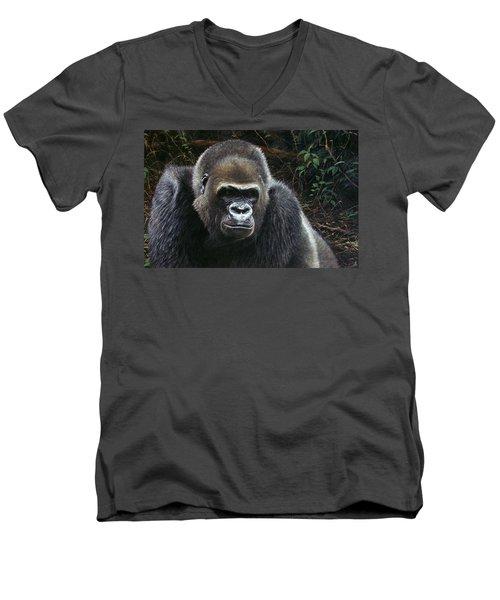 Watchful Domain Men's V-Neck T-Shirt