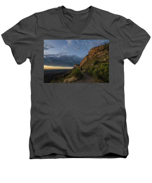 Watching The Sun Fade Men's V-Neck T-Shirt