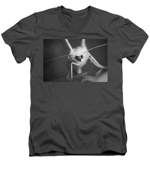 Watching You Men's V-Neck T-Shirt by Keith Elliott