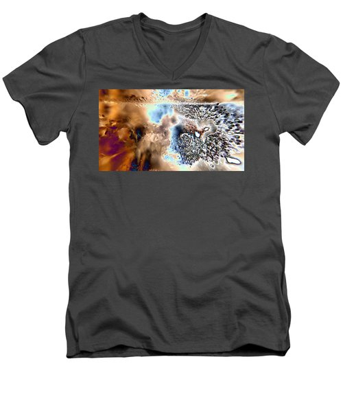 Water Abstract 9 Men's V-Neck T-Shirt