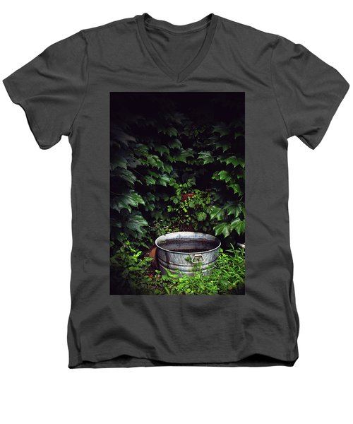 Men's V-Neck T-Shirt featuring the photograph Water Bearer by Jessica Brawley