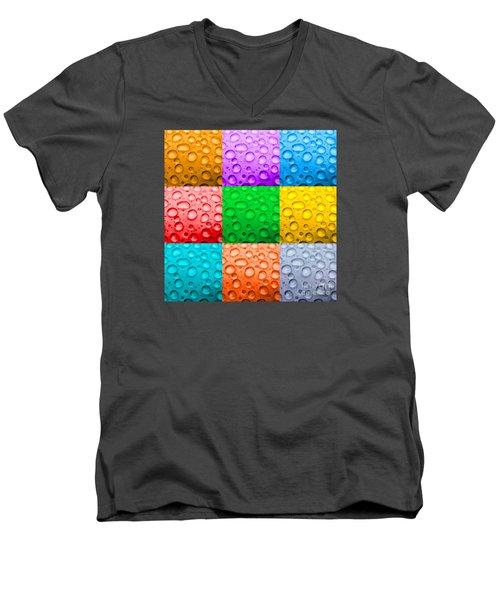 Men's V-Neck T-Shirt featuring the photograph Water Color by DJ Florek