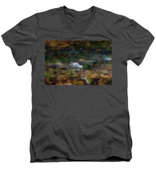 Water Colors Men's V-Neck T-Shirt