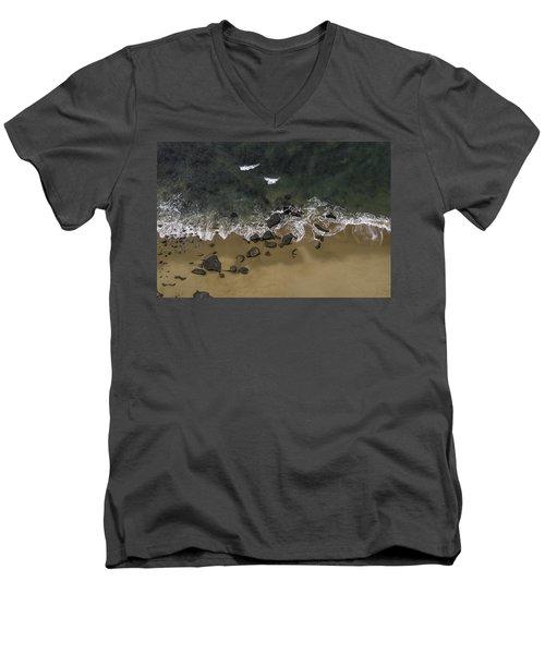 Water Dance Men's V-Neck T-Shirt