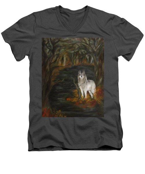 Water Dark Men's V-Neck T-Shirt