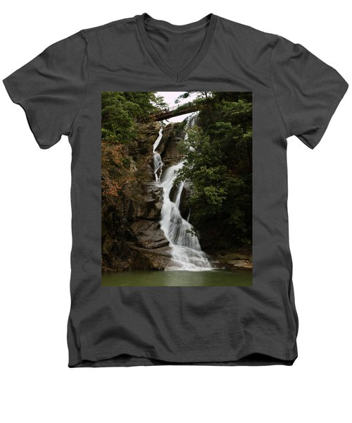 Water Fall 3 Men's V-Neck T-Shirt