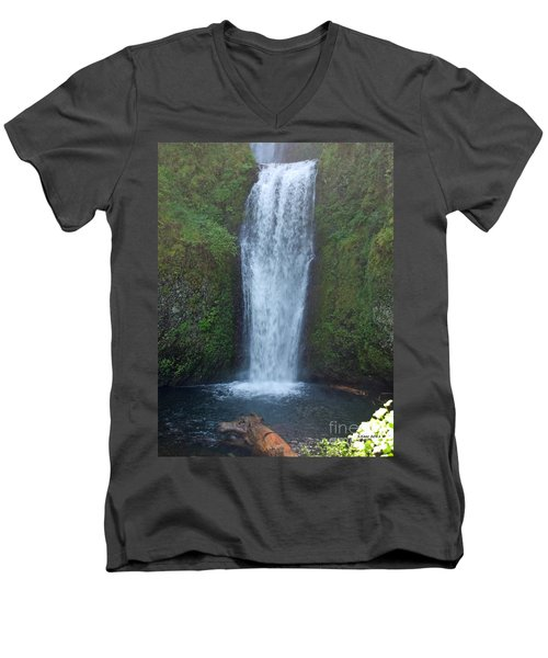Water Fall Men's V-Neck T-Shirt