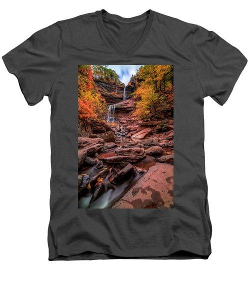 Water Falls  Men's V-Neck T-Shirt