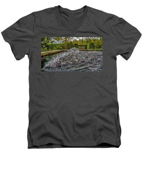 Water In Motion Men's V-Neck T-Shirt