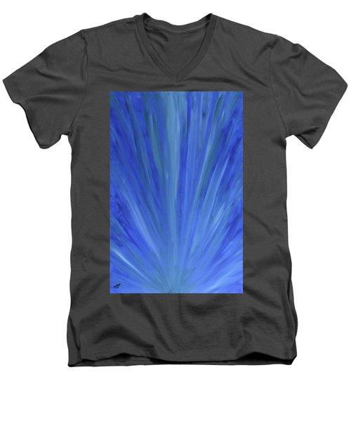 Water Light Men's V-Neck T-Shirt