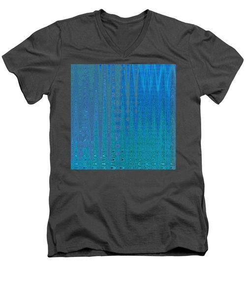 Water Music Men's V-Neck T-Shirt by Stephanie Grant