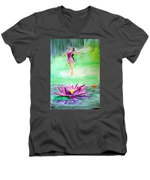 Water Nymph Men's V-Neck T-Shirt