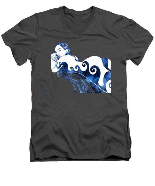 Water Nymph IIi Men's V-Neck T-Shirt