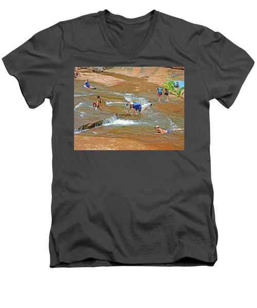 Water Play 3 Men's V-Neck T-Shirt