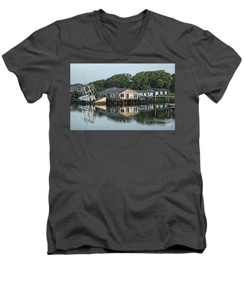 Water Reflection  Men's V-Neck T-Shirt