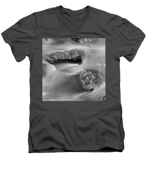 Water Men's V-Neck T-Shirt by Scott Meyer