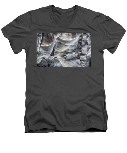 Water Sculpting Rock Art By Kaylyn Franks  Men's V-Neck T-Shirt