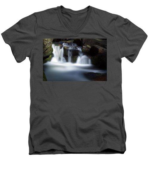 Water Stair - Long Exposure Version Men's V-Neck T-Shirt
