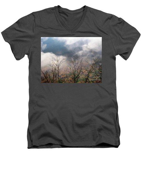 Water Study Men's V-Neck T-Shirt by Melissa Stoudt