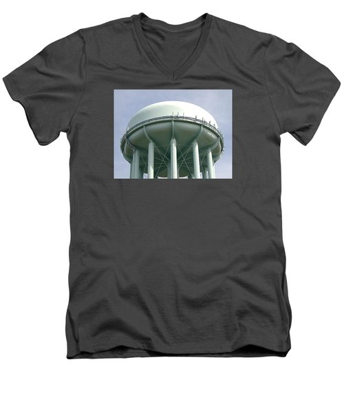 Water Tower Men's V-Neck T-Shirt by  Newwwman