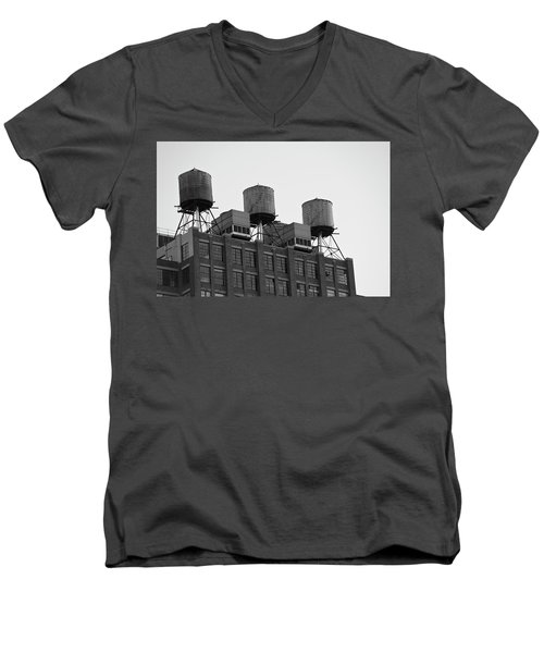 Water Towers Men's V-Neck T-Shirt