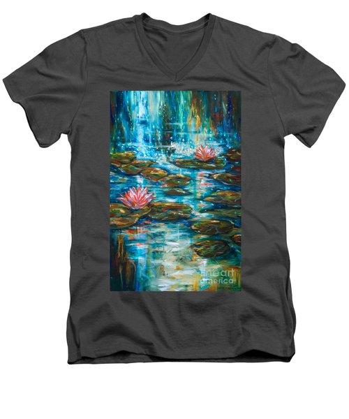 Water Under The Bridge Men's V-Neck T-Shirt