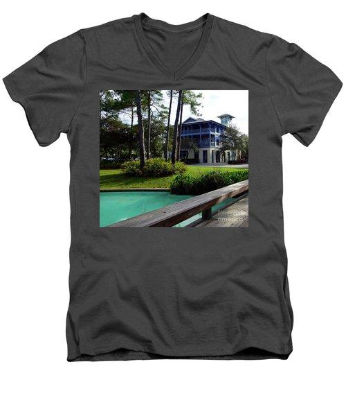Watercolor Florida Men's V-Neck T-Shirt