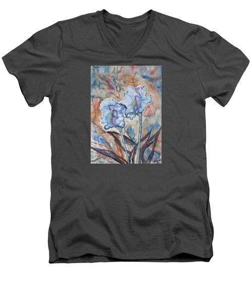 Watercolor - Orchid Impression Men's V-Neck T-Shirt