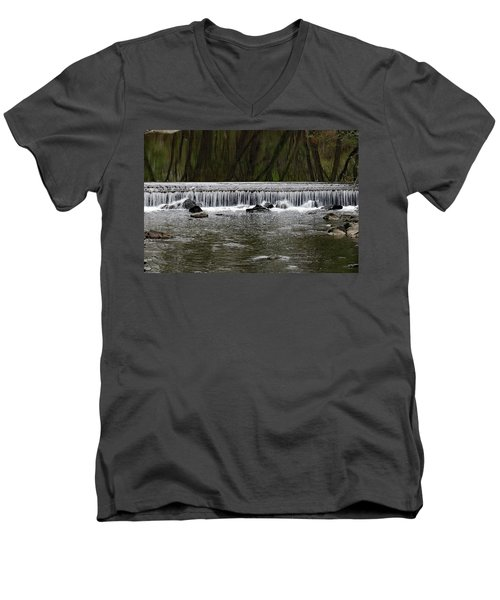 Waterfall 001 Men's V-Neck T-Shirt