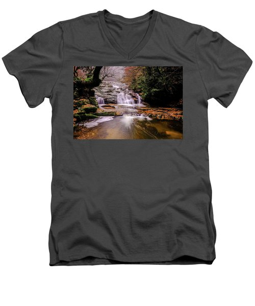 Waterfall-10 Men's V-Neck T-Shirt
