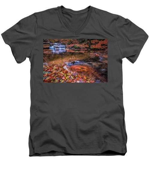 Waterfall-4 Men's V-Neck T-Shirt