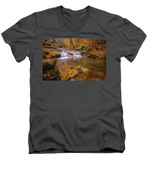 Waterfall-6 Men's V-Neck T-Shirt
