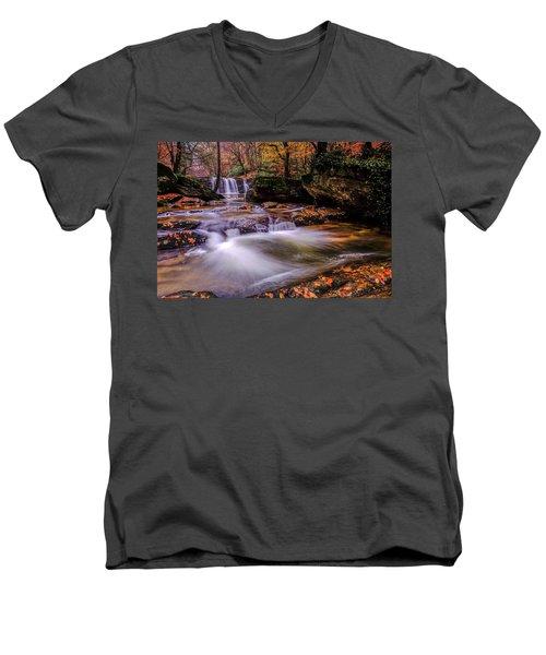 Waterfall-9 Men's V-Neck T-Shirt