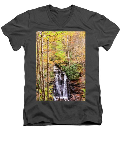 Waterfall Waters Men's V-Neck T-Shirt