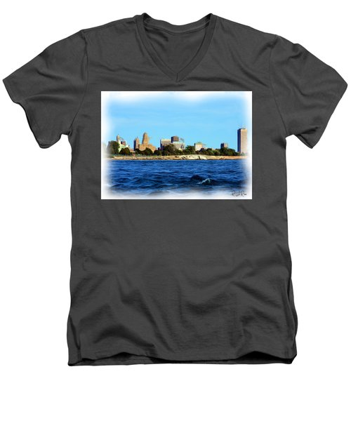 Waterfront Decay Four Men's V-Neck T-Shirt