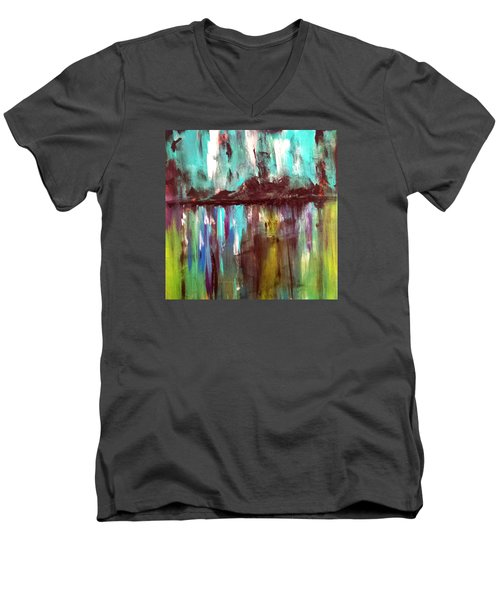 Waterfront Reflections Men's V-Neck T-Shirt