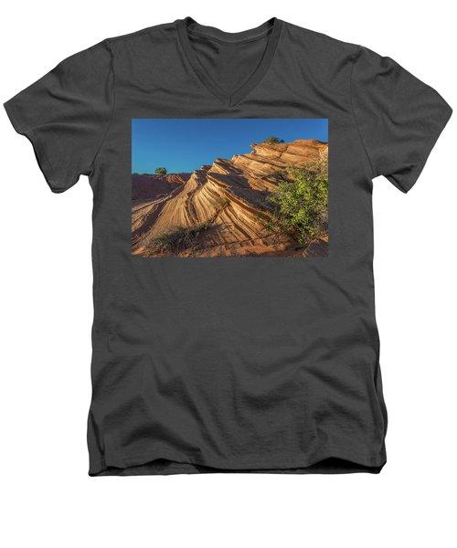 Waterhole Canyon Rock Formation Men's V-Neck T-Shirt