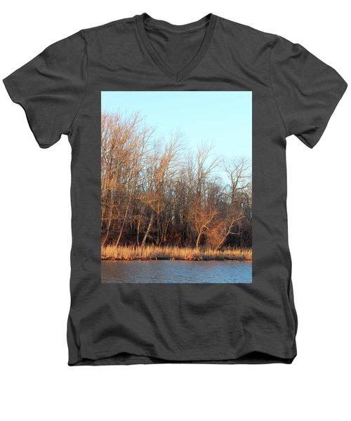 Waters Edge 2 Men's V-Neck T-Shirt