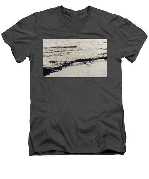 Water's Edge Men's V-Neck T-Shirt