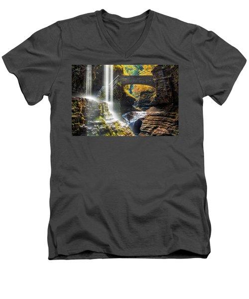 Watkins Glen State Park Men's V-Neck T-Shirt