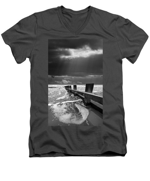 Wave Defenses Men's V-Neck T-Shirt
