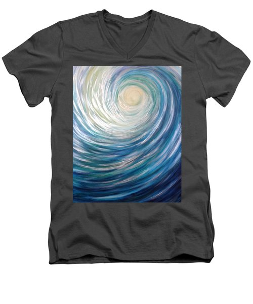 Wave Of Light Men's V-Neck T-Shirt